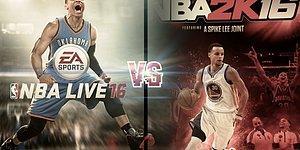 NBA Live ve NBA 2K Oyunlarının Çıktığı Günden Bügüne Kapak Fotoğrafları
