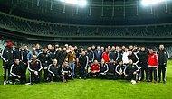 Beşiktaş Takımından Vodafone Arena'ya Erken Ziyaret