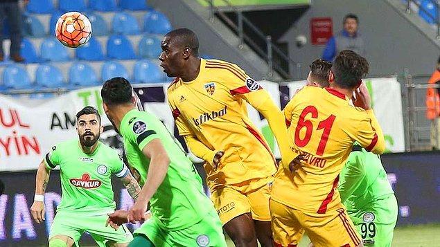 Çaykur Rizespor 0-0 Kayserispor