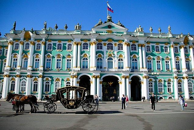 9. Saint-Petersburg Hermitage