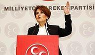 Akşener'den Adalet Bakanı, Ankara Valisi ve Ankara Emniyet Müdürü Hakkında Suç Duyurusu