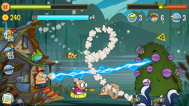 8-) Swamp Attack