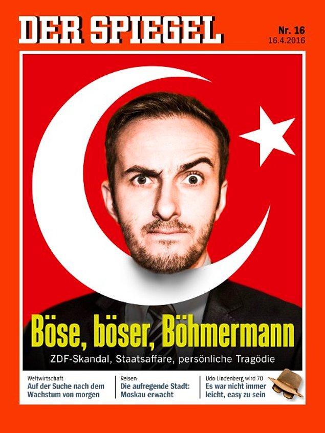 'Şiir krizi' Der Spiegel'in kapağında