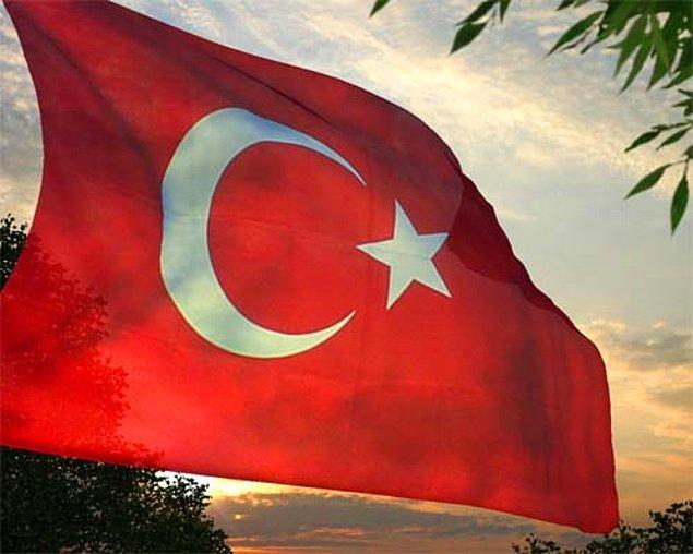 5. Türk bayrağında bilinmeyen gerçek