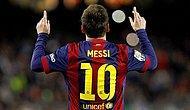 Lionel Messi Kariyerinin 500. Golünü Attı