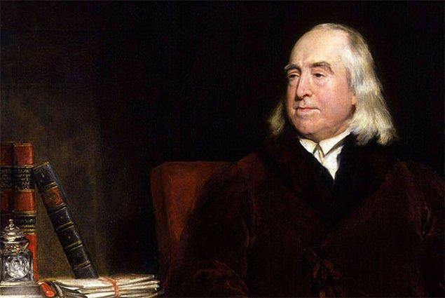 7. Faydacılık görüşünün babalarından Jeremy Bentham son derece ilginç bir kişilikti.