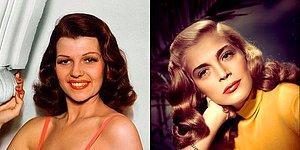 Renklendirilmiş Fotoğraflarıyla Hollywood'un Altın Çağlarından 28 Kadın Oyuncu