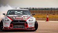 Nissan GT-R Dünya Drift Rekoruna İmza Attı