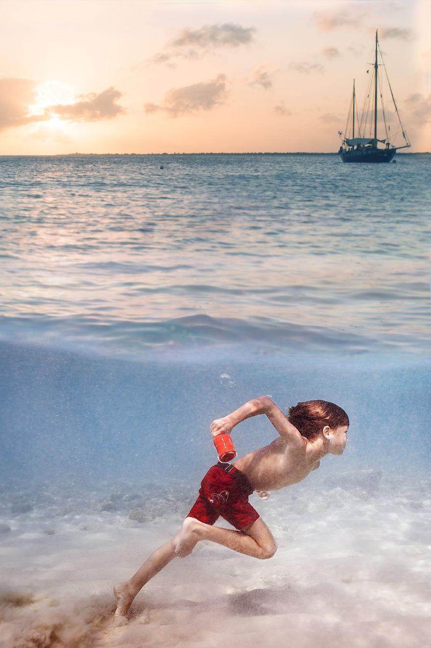 Çocukların Peri Masallarından Fırladığını Düşündürtecek 15 Su Altı Fotoğrafı 35