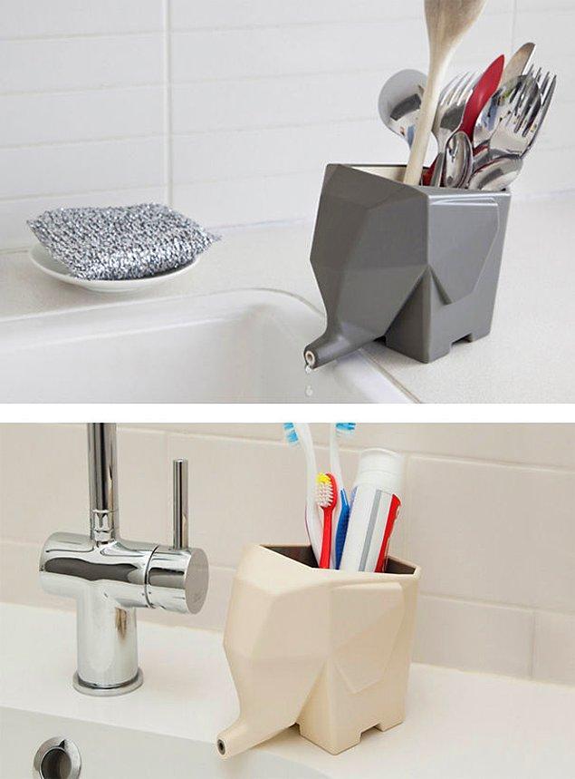 3. Mutfak ve banyoda da çok güzeller!