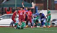 Ünye İle Esnafspor Arasında Oynanan 19 Yaş Altı Final Maçında 11 Kırmızı Kart Çıktı