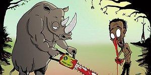 Hayvanlar ve İnsanların Yer Değiştirdiği Bir Dünyayı Gözler Önüne Seren 38 Çarpıcı İllüstrasyon
