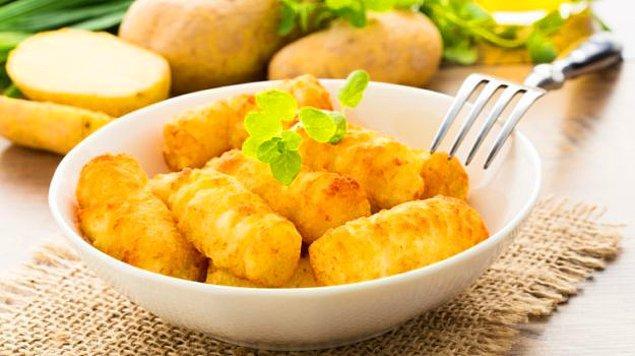 2. Patates+Un+Yumurta+Kaşar Peyniri+Galeta Unu