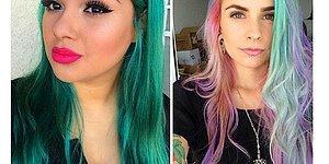 23 Maddede Kahverengi Saçlılar Gökkuşağı Renklerinden Vazgeçiyor!