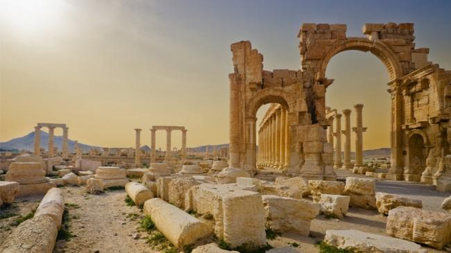 Palmira'ya Giden UNESCO Heyeti: Hasar Çok Büyük