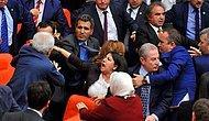 AKP'li ve HDP'li Vekiller Meclis'te Birbirine Girdi, Yumruklar Konuştu