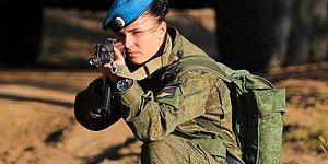 Düşmana Korku Dosta Güven Kalplere Sıcaklık Veren Rusya'nın Kadın Askerleri