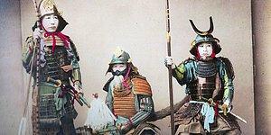 1800'lü Yıllardan Kalma Olan Son Samuraylara Ait Oldukça Nadir 20 Kare