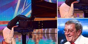 Baş Aşağı Çaldığı Piyano ile Muhteşem Performansını Allahuekber Dağlarına Çıkaran Adam