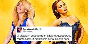 """Koşun Kavga Var: Hande Yener Demet Akalın'ın Kızına """"Bok"""" Gönderdi Ortalık Karıştı!"""