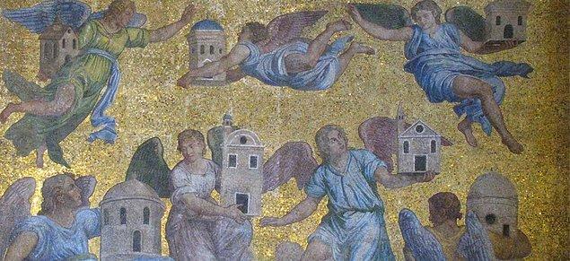 6. İncil'de sözü edilen 7 kutsal kilise vardır. Bunlar Hristiyanlığın ilk yedi kilisesidir ve İzmir bölgesinde kurulmuşlardır.