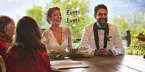"""19 Maddeyle Ünlülerde Başlayan Evlenip Nikah Memuruna """"Evet!"""" Deme Sevdası"""
