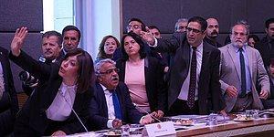 HDP Komisyonu Terk Etti; Teklif AKP, CHP ve MHP Oylarıyla Geçti