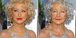 Ünlüleri Photoshop'la Yaşlandıran Sanatçılardan 'Yok Artık' Dedirten 20 Çalışma