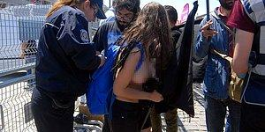 1 Mayıs'taki Çıplak Protestoya Gözaltılar Başladı