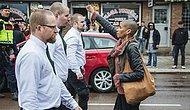 Bu Hafta İsveç'in En Çok Konuşulan Olayı: Neo-Nazilere Tek Başına Kafa Tutan Korkusuz Kadın