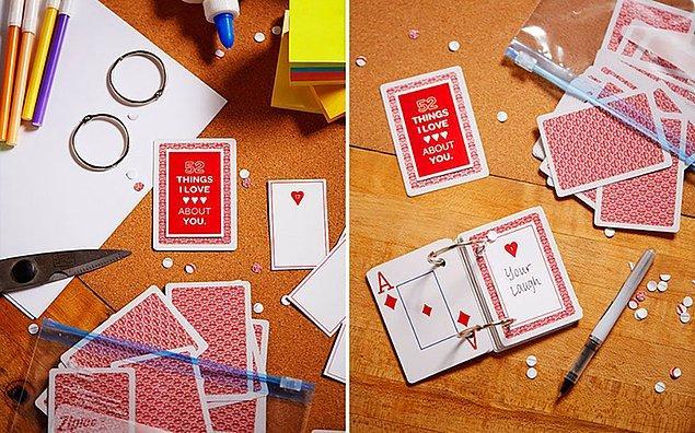9. İskambil kağıtları güzel anılarınızı toparlayabilir...