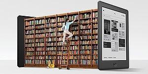 Yüzlerce E-Kitap Okumaya Hazır Olun Çünkü Bu Cihazdan Gözlerinizi Alamayacaksınız!