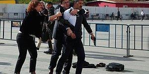 Can Dündar'a Adliye Önünde Silahlı Saldırı