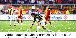Şampiyonluk Yarışında Olan Fenerbahçeli Taraftarlardan Galatasaray-Beşiktaş Maçı Totemi