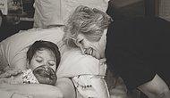 Kızları Doğum Yaparken Tüm Desteğiyle Yanlarında Olan Annelerden 43 Sevgi Dolu Fotoğraf