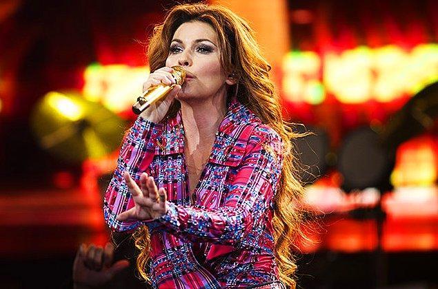 12. Shania Twain - 14.4 Milyon Dolar