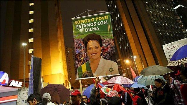 Devlet Başkanı Rousseff Petrobras'ın başkanlığını yürüttüğü sırada yolsuzluk yapıldığı, ihalelere fesat karıştırıldığı, yetkililerin rüşvet aldığı iddialarıyla karşı karşıya