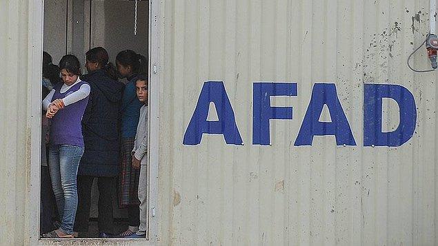 AFAD'dan açıklama