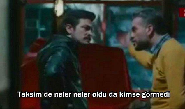 15. Kardeş Payı'nda; yapacakları icadı Taksim'e götürüp, insanlara göstererek destek bulacaklarını düşünürlerken söylenen söz: