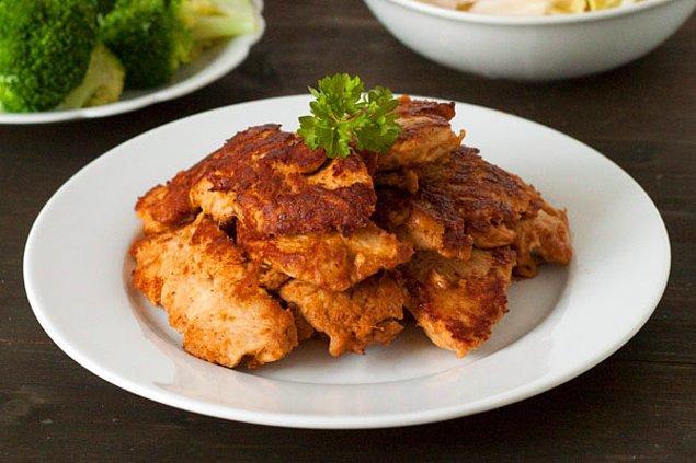 11. Yer Fıstıklı Tavuk