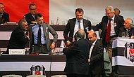 Patron Çıldırdı: Olaylı Beşiktaş Kongresinde Fikret Orman Kongre Üyesini Yumrukladı!