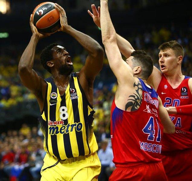 İlk Yarı Sonucu   Fenerbahçe 30-50 CSKA Moskova