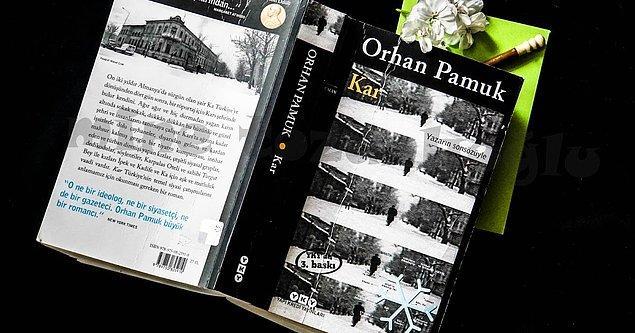 "8. ""Kar""   Orhan Pamuk"