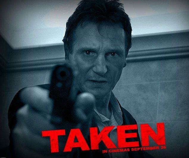 """9. Taken (2008) - """"Pezevenklerin elinden gittim aldım!"""""""
