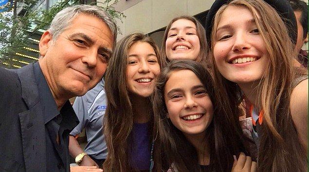 Genç oyuncular ise George Clooney ile birlikteler.