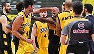 Yunanistan'da Olaylı Basketbol Maçı 3'e 2 Tamamlandı!
