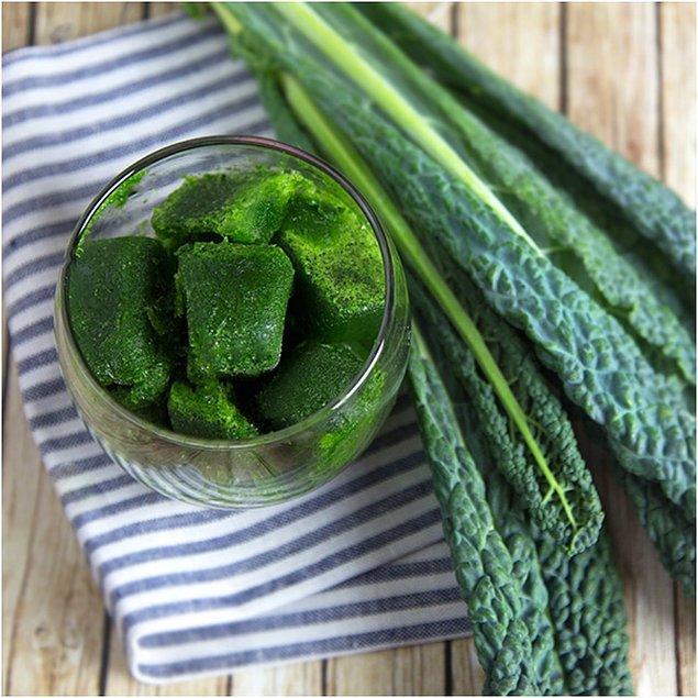 9. Detoks yapmaya yeşil sebzelerden başlayabilirsiniz!