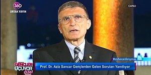 Evde Nobel Geçmiyor: Aziz Sancar'dan Eğlenceli  'Çöp Atma' İtirafı!
