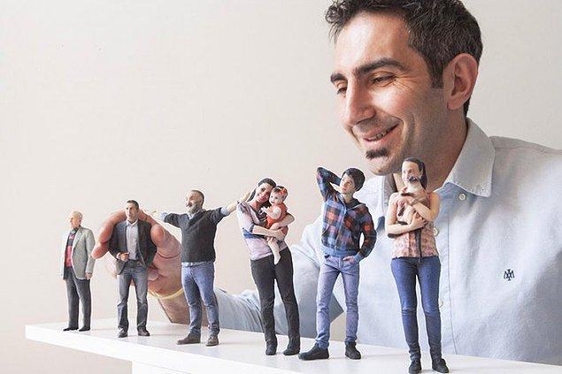 4. Türkiye'nin ilk 3D Dijital Fotoğraf Stüdyosu'unda selfie çekebileceğin tek fuar.