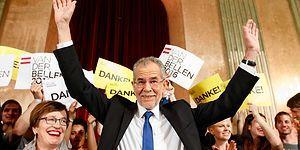 Avusturya'da Van der Bellen Irkçı Aday Karşısında Mektup Oylarıyla Kazandı